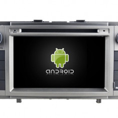 NAVIGATIE TOYOTA AVENSIS (2008 2013) ANDROID 9 QUADCORE 2GB RAM CU DVD 7 INCH AD BGX57G