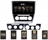 NAVIGATIE SKODA OCTAVIA 2 Facelift, Android 10, HEXACORE PX6 4GB RAM + 64GB ROM, 10.1 Inch - AD-BGBSKODA10P6