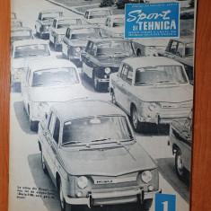 sport si tehnica ianuarie 1969-caii puterii ai aiviatiei,motocicleta,avioane