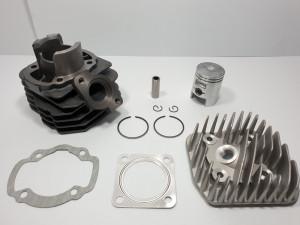 Kit Cilindru Set Motor + Chiuloasa  Scuter KYMCO SUPER DJY 49cc - 50cc - AER