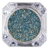 Cumpara ieftin Sclipici Glitter Unghii Pulbere LUXORISE, Blue Glow #53