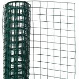 Cumpara ieftin Nature Plasă din sârmă verde 0,5 x 2,5 m oțel cu plastic 13 mm pătrat