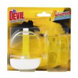 Cumpara ieftin Odorizante WC DR. DEVIL 3 in 1 Lemon Fresh, 3 Buc/Set, Lamaie, 55 ml, Geluri Odorizante WC, Odorizante pentru Toaleta, Odorizant Toaleta, Gel Odorizan
