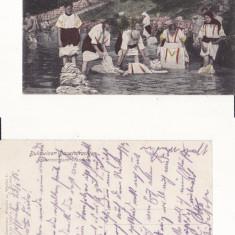 Tipuri,  Bucovina - rara,WWI, WK1, Circulata, Printata