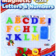 Joc Educativ cu Litere Magnetice si Tablita