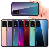 Husa Gradient din sticla pt Samsung Galaxy S20, S20+ , S20 Plus, S20 Ultra