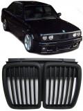 Grila sport BMW Seria 3 E30 2 + 4 uși pre-facelift Cabrio negru mat, 3 (E30) - [1982 - 1992], JOM