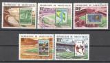 Haute Volta 1977 Football, Soccer, used AF.032, Stampilat