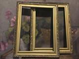 Vintage / Design / Decor - lot rame pentru fotografii goblen tablou sau oglinda