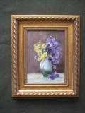 """""""Vază cu flori"""" 27x37 cm"""