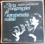 10 LP BOX SET: MARIN CONSTANTIN - ARTA CONSTRUCTIEI SI INTERPRETARII CORALE/1983, VINIL