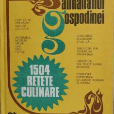 Almanahul gospodinei, editat de Revista Steaua, 1983, 390 pg.