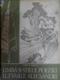 Limba Si Studiul Poeziei Lui Vasile Alecsandri - Florin D. Popescu ,548394