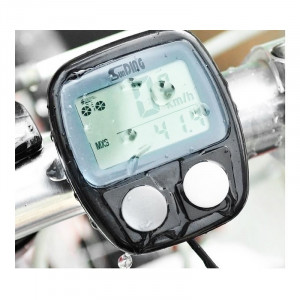 Kilometraj bicicleta SunDing, 14 functii, functie Scan