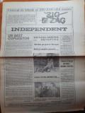 Ziarul zig zag independent 1990-toata redactia ziarului si-a dat demisia