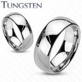 """Inel din tungsten """"Stăpânul inelelor"""" - culoare argintie - Marime inel: 56"""