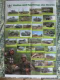 Cumpara ieftin Rar! Poster 830 x 590 mm arme si vehicule Bundeswehr/Armata germană