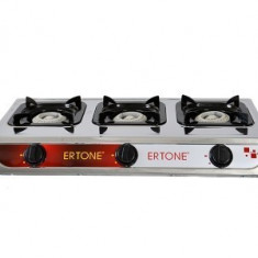 ERT-MN 205 Aragaz 3 ochiuri inox Ertone