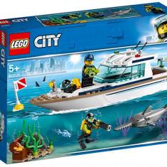 LEGO City - Iaht pentru scufundari 60221