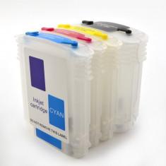Cartuse reincarcabile pentru HP940 cu cipuri autoresetabile