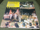 Nunta la romani salaj orchestra ansamblului mesesul zalau dublu disc 2 lp vinyl, VINIL, electrecord