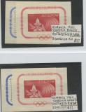1960 OLIMPIADA DE VARA, Nestampilat