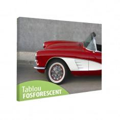 Tablou fosforescent Corvette