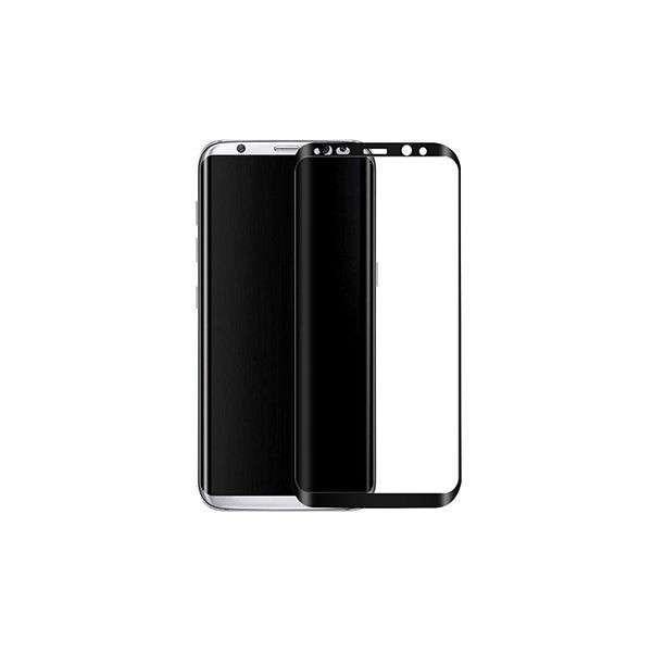 Geam Folie Sticla Protectie Display Samsung Galaxy S8 Plus Acoperire Completa 6D Neagra
