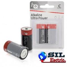 Baterii alcaline 2 buc/blister HQ