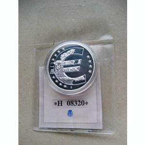 A188-UNC-Medalie cu potcoava Euro cu taur-10 ani aniversare prima editie 2008.