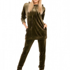 P560-14 Compleu format din bluza cu buzunare si pantaloni