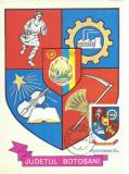TSV - MAXIMA BOTOSANI - STEMA JUDETULUI HERALDICA `78 STAMPILA 2