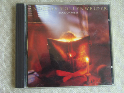ANDREAS VOLLENWEIDER - Book Of Roses - C D Original ca NOU foto
