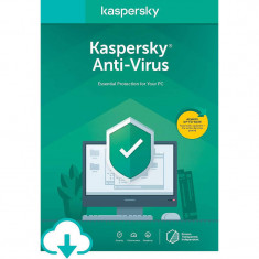 Antivirus Kaspersky Antivirus 2020 1 Dispozitiv 1 An Licenta de reinnoire Electronica