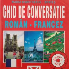 GHID DE CONVERSATIE ROMAN-FRANCEZ - Dumitrescu-Brates