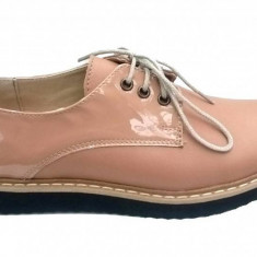 Oferta marimea 37 - Pantofi dama casual din piele naturala - LZARIABEJ