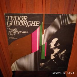 -Y- TUDOR GHEORGHE - VENITI PRIVIGHETOAREA CANTA     DISC VINIL LP
