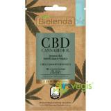 CBD CANNABIDIOL Masca de Fata Hidratanta si Calmanta cu Canabidiol CBD pentru Ten Uscat si Sensibil 8g