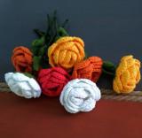 Trandafiri nemuritori - realizati manual