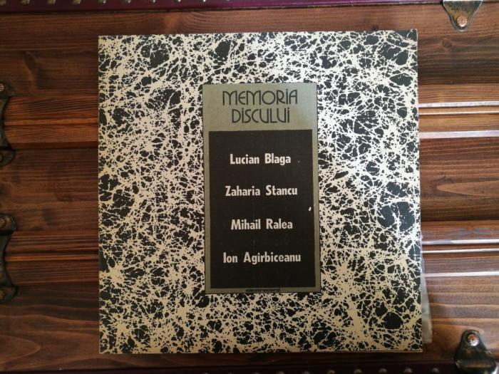 Memoria Discului - Lucian Blaga/ Zaharia Stancu/ Mihail Ralea/ Ion Agîrbiceanu