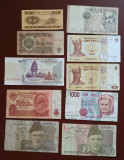 Lot 10 bancnote străine