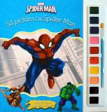 Disney. Spider-man. Să pictăm cu Spider-Man. Carte de colorat cu pensula și acuarele