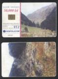 Romania 2001 Telephone card Mountains Rom 122 CT.087