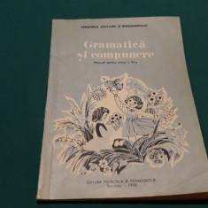 GRAMATICĂ ȘI COMPUNERE * MANUAL CLS. A III-A / 1986