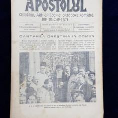 APOSTOLUL - CURIERUL ARHIEPISCOPIEI ORTODOXE ROMANE DIN BUCURESTI , ANUL XI . NR. 20 - 15 OCOTMBRIE 1934