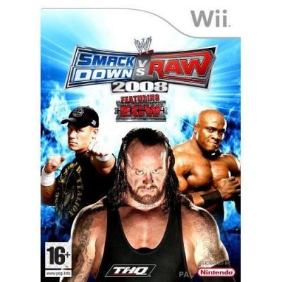 SmackDown Vs Raw 2008 Wii foto