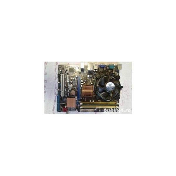 Kit Placa de Baza Asus P5KPL-AM SE, processor E5700 Dual - Core, ddr2, socket 775