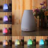 Difuzor Aromaterapie ,Telecomanda, , LittleDomi,200 ml,Lampa de Veghe, Alb