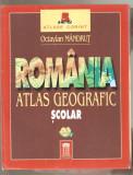 Romania - Atlas geografic scolar