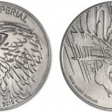 Portugalia moneda 5 euro 2018 UNC in capsula - Vulturul imperial, Europa, Cupru-Nichel